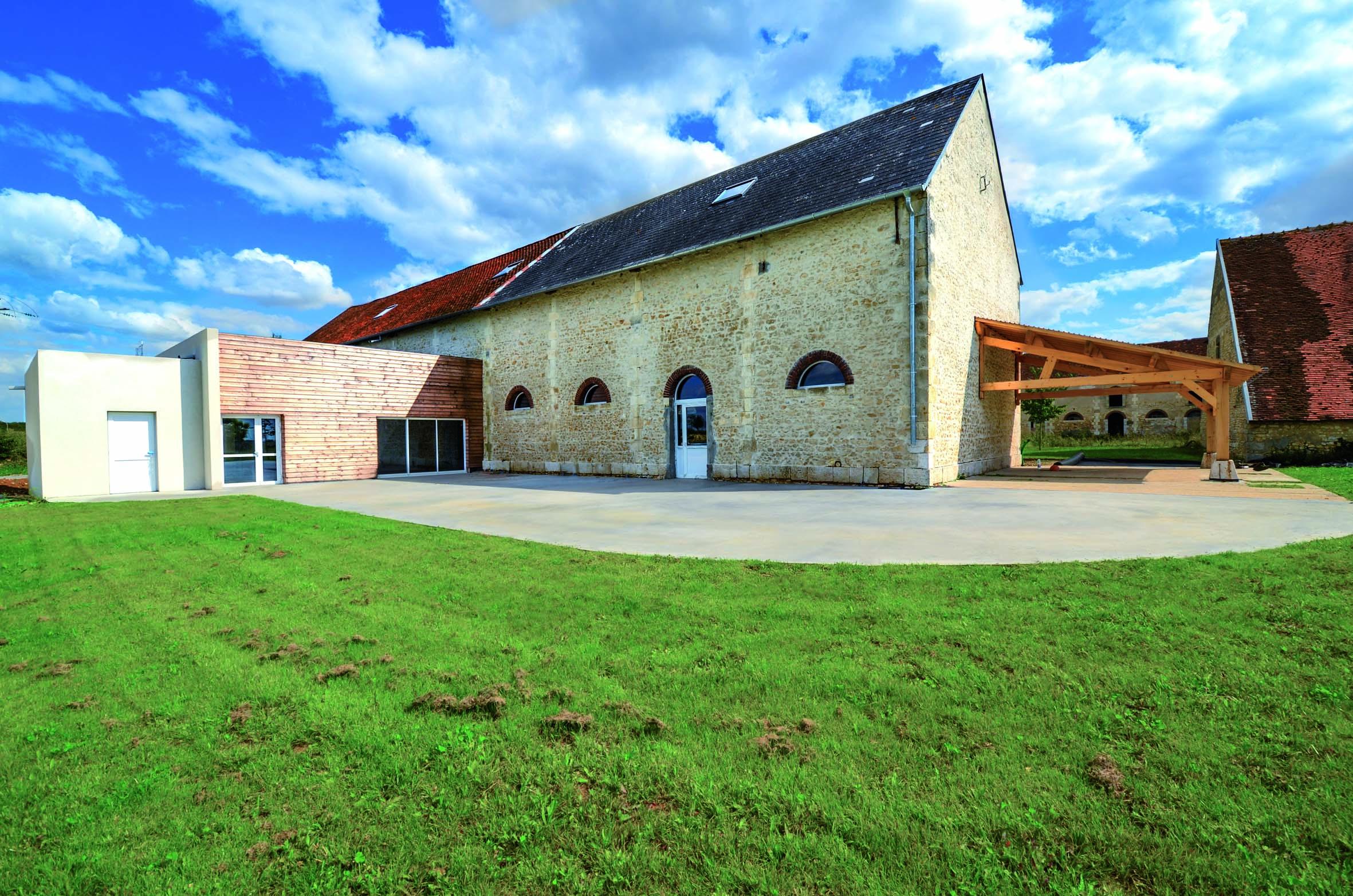 Salle de réception dans le Berry